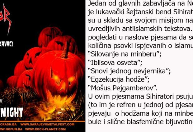 Hoće li se večeras za Noć vještica naša omladina ismijavati s islamom?