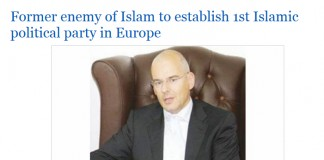 medijsko nasilje muslimana nad Van Doornom