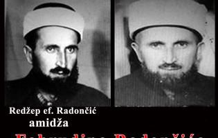 Redžep ef. Radončić, amidža Fahrudina Radončića
