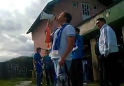 Pogledajte kako se bošnjačka omladina, navijači Gradine iz Srebrenika ismijavaju sa ezanom