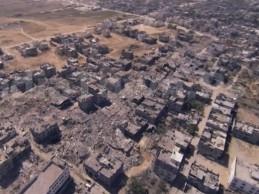 Pogledajte panoramni pogled na uništenu četvrt Šeđaiju u Gazi