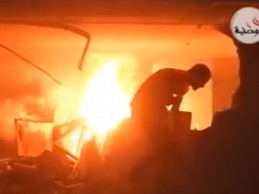 Izrael nastavlja ubijati: Pogledajte izvlačenje ranjenih ispod zgrade koju je pogodilo 3 avionska projekltila