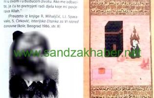 """Skandal u Sandžaku – Džudžo u """"HISTORIJI 6″ štampao sliku MUHAMMEDA S.A.V.S."""