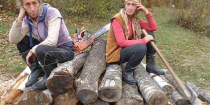 Zaboravljene sestre sa Peštera: Sabaheta i Nusreta žive od sječe i prodaje drva