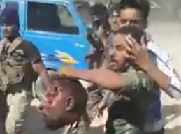 Prošijska iračka vojska odsijeca glave zarobljenim sunijama u Iraku