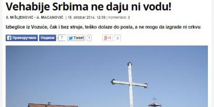 """Veikosrpski metod širenja mržnje prema Bošnjacima u RS-u: """" Vehabije Srbima ne daju ni vodu"""""""