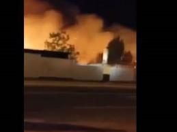 Veliki požar u jednom kampu za hadžije na Arefatu