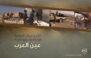 Skrivene slike napredovanja Idiša prema kurdskom gradu Kobane