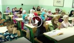"""Mektebski biseri iz džamije Kalibunar – Travnik uživaju pjevati ilahiju """" Bismillah"""""""