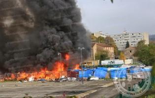 U Francuskoj izgorio kamp u kojem su azilanti iz BiH…
