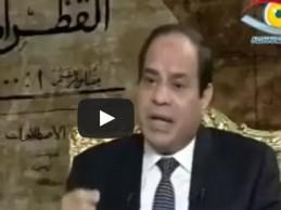 Sisi priznao da ubija muslimane i ruši njihove kuće na Sinaju kako bi zaštitio Izrael