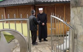 Bihaćki muftija Hasan ef. Makić posjetio imama Selvedina Beganovića