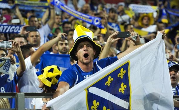 UEFA kaznila Nogometni savez BiH sa 18.000 eura zbog zviždanja himni Izraela