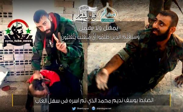 Yusef Mohamed, komandant Asadovih Tigrova volio se slikati dok kolje civile, a onda je pao u ruke opozicije