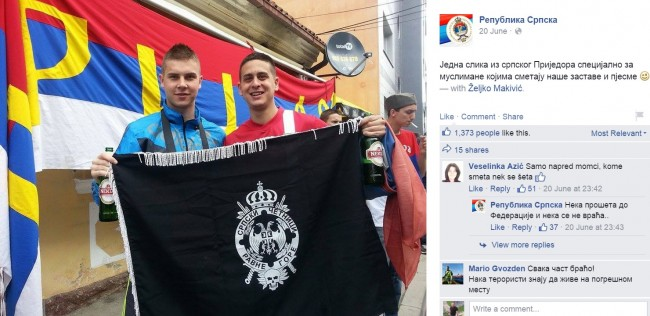 Ovako se planski, preko društveni mreža, indoktriniraju Srbi u RS-u da napadaju Bošnjake