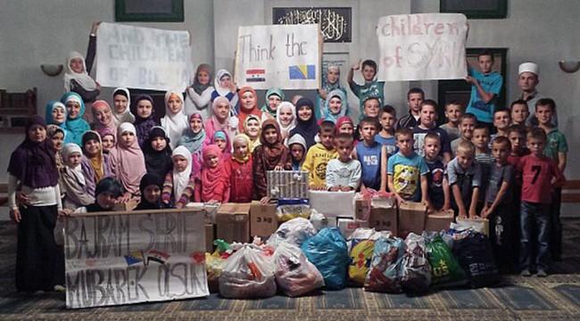 Polaznici mekteba džemata Lendići misle na svoje vršnjake iz Sirije