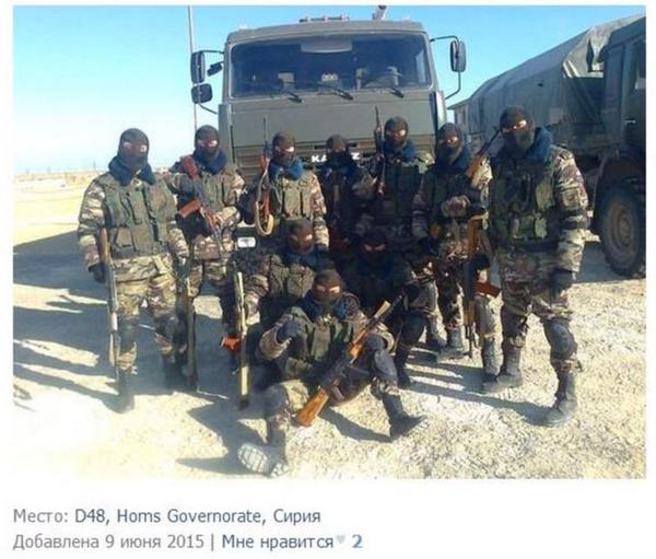 Foto: Ruski vojnici se bore u Siriji na strani Bashara Asada