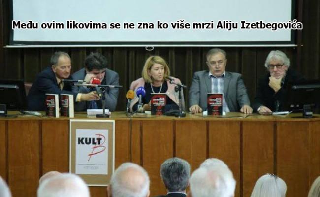Promocija skandalozne knjige protiv Alije Izetbegovića