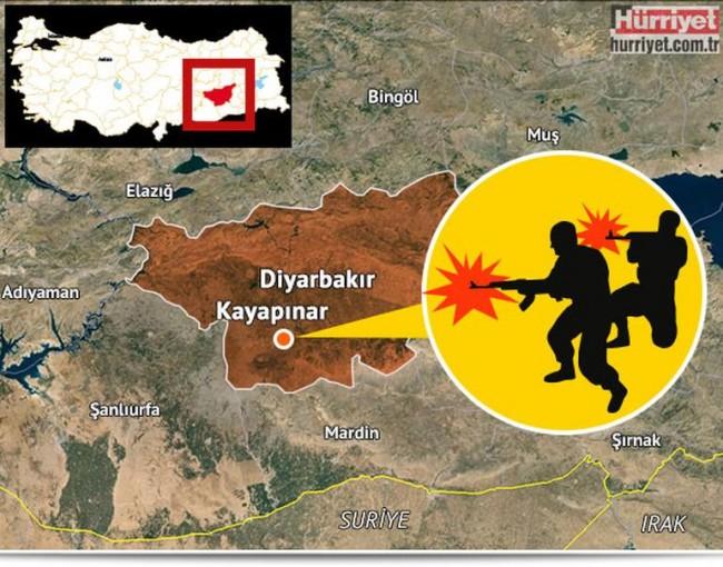 Pogledajte okršaj turske policije i Isilovih bandita u Diyarbakiru(VIDEO)