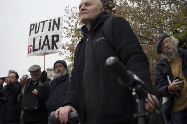 Protest u Moskvi: Asad je ubica, Putin je Lažov