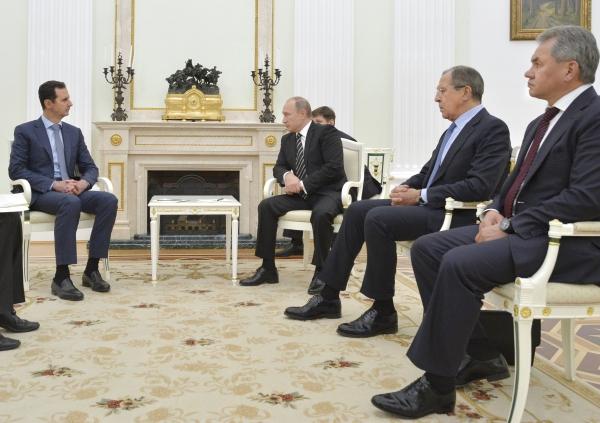 Kako je Putin ponizio Asada u Moskvi