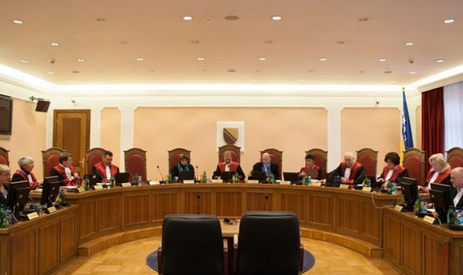 Dodik i čović žele zagospodariti Ustavnim sudom i tako još više oslabiti Bosnu i Hercegovinu
