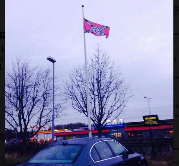 Švedska: Nacistička zastava ispred škole Islamske zajednice