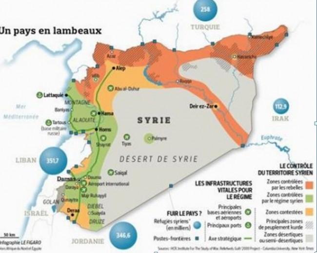 Izrael čeka podjelu Sirije radi sklapanja separatnih sporazuma sa novim državicama