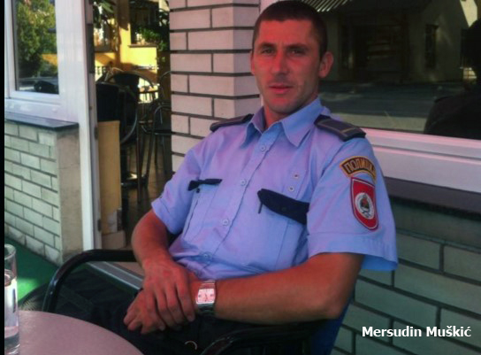 Srpski ekstremisti javno prijete da će ubiti Mersudina Muškića, pripadniku MUP-a RS iz Han Pijeska