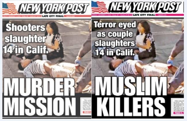 Pogledajte kako je New York Post promijenio naslovnicu nakon saznanja da napadač ima muslimansko ime