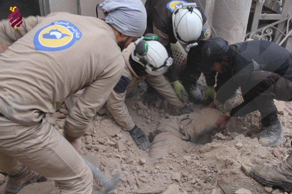 Halep: Ruski avioni gađali džamiju  vrijeme namaza, ubijeno deset vjernika