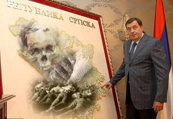 Ovom izjavom Dodik je otkrio da uz referendum planira izvoditi lažne terorističke napade