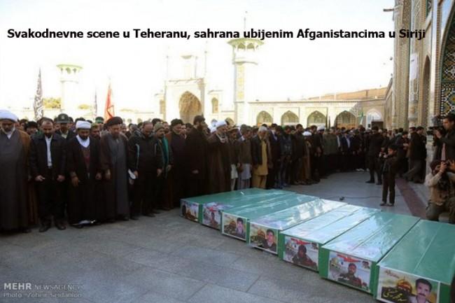 Dvadeset hiljada afganistanskih šija bori se u ime Irana u Siriji
