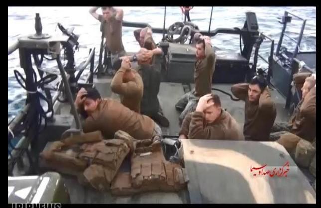 Iran objavio foografije zarobljenih američkih vojnika
