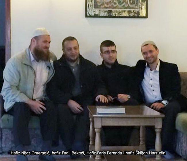 Novi Travnik danas dobio dva hafiza, Nijaza Omeragića i Farisa Perendu