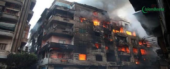 Allahova blagodat- Šta je spasilo jedan stan u masovnom požaru?