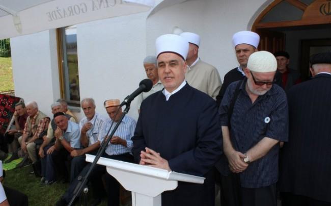 """Husein ef.  Kavazović: """"Svima kažemo da se ne bojimo biti šehidi"""""""