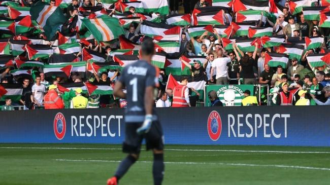 Izraelska policija zabranila navijačima Celtica mahanje palestinskim zastavama