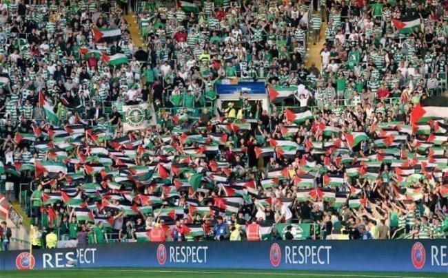 Fenomenalna reakcija navijača škotskog Celtica na kaznu UEFA-e  zbog podrške Palestini