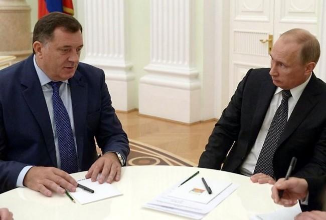 Šokantna najava: Putin pozvao Dodika na sastanak u Moskvu  22.septembra, tri dana prije zakazanog referenduma u RS
