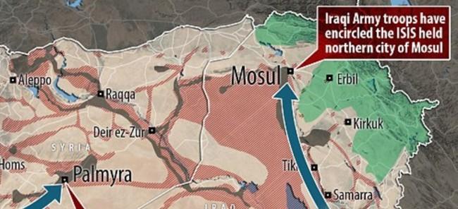 Isil brani Mosul koristeći strategiju kopanja kanala kao u bitki na Hendeku