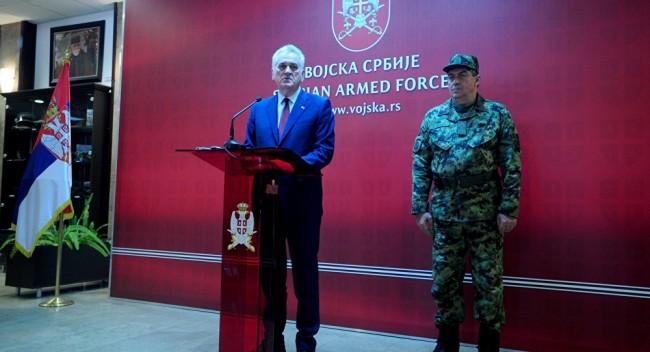 Vojvoda Nikolić: Ako treba, poslaćemo vojsku na Kosovo, i ja ću ići, nije mi prvi put