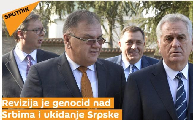 """Ruska agencija Sputnik reviziju presude protiv Srbije nazvala """"genocidom nad Srbima"""""""