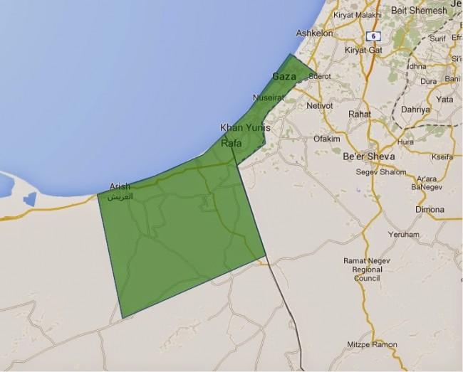 Izrael i Sisi žele napraviti domovinu za Palestince u Gazi i na Sinaju