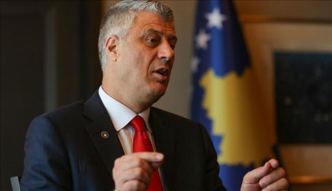 Hashim Thaci pozvao EU i NATO da upozore Srbiju da prestane sa huškanjem novog konflikta na Kosovu