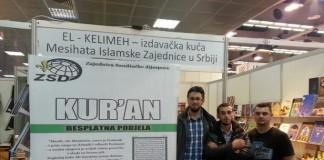 podjela kurana na sajmu knjiga u beogradu 28.10.2013 2