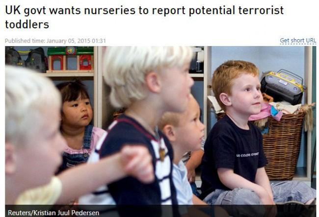 Britanska vlada traži od obdaništa da prijave potencijalne teroriste među djecom
