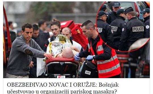 """Velikosrpska propaganda kreće u ofanzivu: """"Bošnjak učestvovao u organizaciji pariškog masakra"""""""
