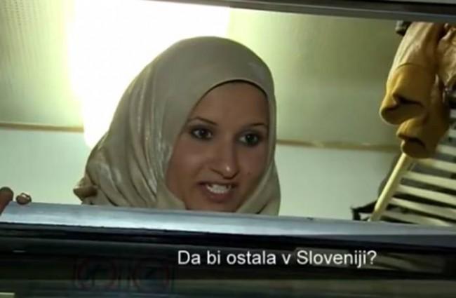 Slovenci poludjeli zbog odgovora Sirijke o ostanku u Sloveniji (VIDEO)