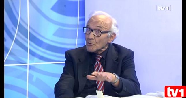 Sraman potez TV1:Dopustili Riđanoviću da naziva akademika Jahića umno poremećenim čovjekom